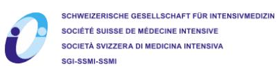 SGI Schweizerische Gesellschaft für Intensivmedizin logo