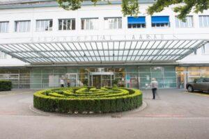 Kantonsspital Aarau Eingang